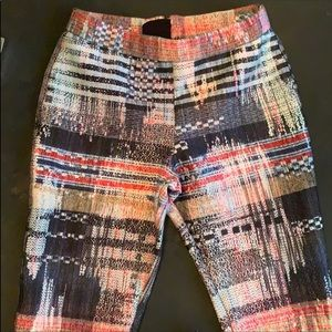 Size S Multicolor Career Pants